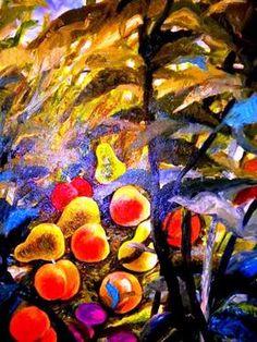 "Saatchi Art Artist Nada  Sucur Jovanovic; Painting, "" The Fruit"" #art"