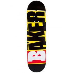 Baker Skateboards, Skate Decks, Longboards, Skates, Skateboarding, Black N Yellow, Logo, Street, Skate Style