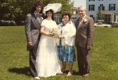 Clif Cooky Crawford (Ex Ritchie's Tech 81-88) Album. Cooky says : here's Mr & Mrs Blackmore (Amy) with Mr & Mrs Blackmore (Dad & Mom) May 1981. — with Ritchie Blackmore, Amy Rothman, Ritchie's Mother and Ritchie Blackmore's Father.