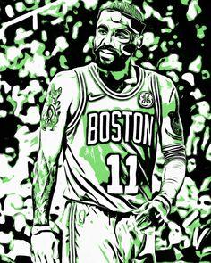 Masked man Kyrie Irving edition. #Celtics #CelticsNation #Boston  #Basketball #NBA