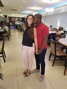 Black Guy White Girl, Black And White Couples, White Girls, Black Men, Black White, Interracial Marriage, Interracial Couples, Mixed Couples, Cute Couples