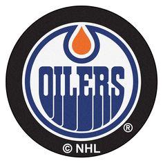 Edmonton Oilers NHL Puck Mat (29 diameter)