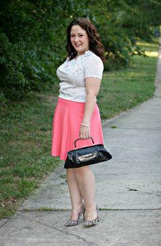 Wardrobe Oxygen: Polka dots with pink