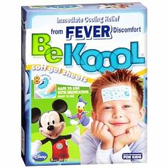 Be Koool Disney Characters Fever Relief Soft Gel Sheets 12 Count: Provide immediate cooling relief in a convenient disposable product. They need no refrigeration and are portable, ready to use anywhere and anytime your child has fever discomfort. Circadian Rhythm Sleep Disorder, Kids Fever, Baby Fever, Todays Parent, Migraine Relief, Little Ones, Health And Beauty, How Are You Feeling, Fun