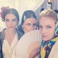 Dolce & Gabbana Alta Moda Fall Winter 2014 Show - Hair & Makeup