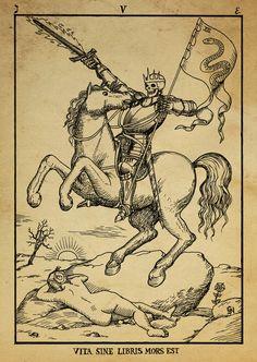 medieval alchemy tarot heraldry Alchemy woodcut abrac ad ab ara herlandian Dashinvaine