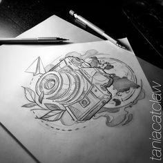 #travel #ink #inkstagram #iblackwork #sketching #sketch