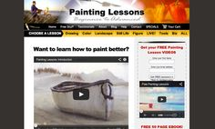 Painting websites for lessons