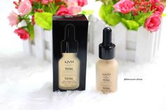 NYX Total Control Drop Foundation - #nyx #nyxcosmetics #Nyxprofessionalmakeup #nyxtotalcontroldropfoundation #makeupreview #beautybloggerindonesia #beautiesquad www.blossomshine.com