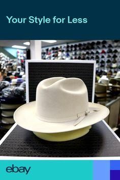 645a562f3e6 STETSON OPEN ROAD SILVERBELLY ROYAL DELUXE FUR FELT DRESS HAT