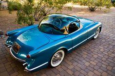 1954 Bubbletop Chevy Corvette.