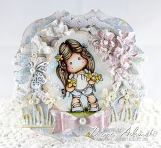 ♥ DeeDee's Card Art: All About Magnolia Challenge DT - All About Flowers ♥