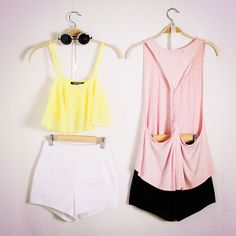Color your style up with a bright mood, hello summer. Sexy or lovely?#romwe