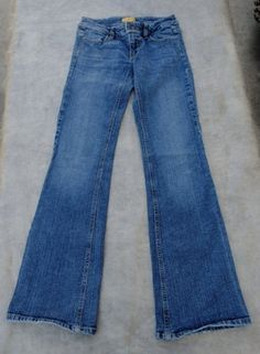 DMBM Nine Sz 3 Low Rise Boot Cut Jeans 26-28 W x 33 L - $22.95