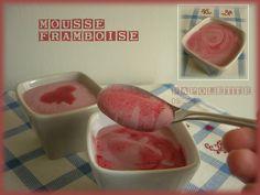 Papolette en cuisine: Mousse framboises