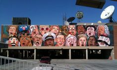 The Singing Mural by C.F. Payne and Jenny Ustick, Cincinnati