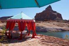 Dramatic setting for Desert Beach Dance Party