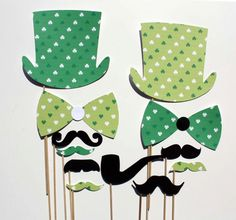Patrick's Day Photo Booth Props - 12 Piece - Party Props on Etsy Holiday Fun, Holiday Ideas, Holiday Gifts, Photo Booths, Photo Booth Props, Saint Patricks, St Patricks Day, Party Props, Party Ideas