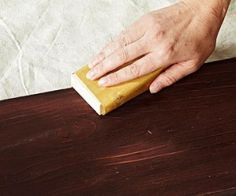 Técnica DIY para envejecer muebles 2