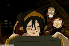 This gif is perfection. Team Avatar.