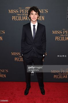 Finlay MacMillan attends the 'Miss Peregrine's Home For Peculiar Children' premiere at Saks Fifth Avenue on September 26, 2016 in New York City.