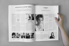 EDITORIAL DESIGN - Say What Studio Newspaper