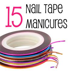 15 Nail Tape Manicures