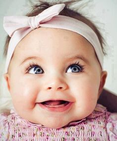 Oh my!This super cute baby my daughters eyes was this bright when she was a baby