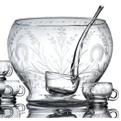 Classic Hostess's extensive collection of stylish glass beverage dispensers, beautiful cake stands and unique storage kitchen canisters, are great for weddings, parties & your home. Glass Beverage Dispenser, Wine Supplies, Glass Etching, Etched Glass, Clear Glass, Colorful Drinks, Punch Bowl Set, Crystal Stemware, Joss And Main
