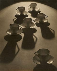 Tea cup ballet, by Olive Cotton - I have loved this since I first saw it in the South Australian Art Gallery. Thanks for pinning and reminding me W. I think it helped my understanding of art photography. Shadow Photography, Still Life Photography, White Photography, Ballet Photography, Australian Photography, Timeless Photography, Reflection Photography, Inspiring Photography, Monochrome Photography