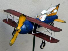 Bunny in a Biplane