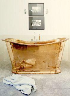 Jennings & Gates:  A copper tub
