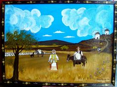 Taxi, Blog, Painting, Naive Art, Painting Art, Blogging, Paintings, Painted Canvas, Drawings