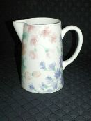 Sango Wisteria Water Beverage Pitcher.  Great pitcher for lemonade or iced tea after a days fork in the garden!