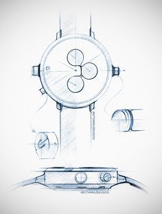 https://www.behance.net/gallery/9157483/wrist-watch-design-sketches-renders