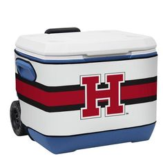 Harvard Crimson Bold Stripes Cooler Wrap from Team Sports Gift. Click now to shop Harvard University tailgate and party supplies plus furnishing for your game room.