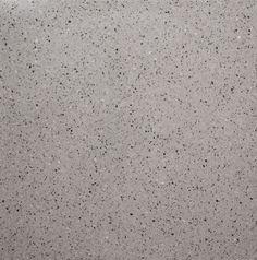 L-884E. Formato: 40x40 cm. Composición: mármol triturado gris y negro y fondo gris medio. #terrazo #terrazzo #pavimento