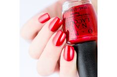 OPI Venice - Gimme A Lido Kiss - dangerous stainer, sounds like! Opi Nail Polish, Opi Nails, Nails 2015, Fall Winter 2015, Venice, Swatch, Kiss, Fancy, Photo And Video