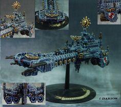 Grey Knight Battlebarge  Darius-Markus - Battlefleet Gothic
