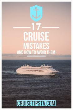 Planning your first #cruise can be intimidating, but we are here with 17 #cruisetips to help you avoid some common rookie cruise mistakes. Travel Size Toiletries, How To Book A Cruise, Best Insurance, Set Sail, Cruise Tips, Travel Size Products, Mistakes, Caribbean, Bon Voyage