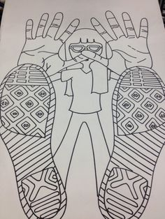 After learning about foreshortening, Art 1 students were given a lot of freedom for their project. All that was required was that students i...