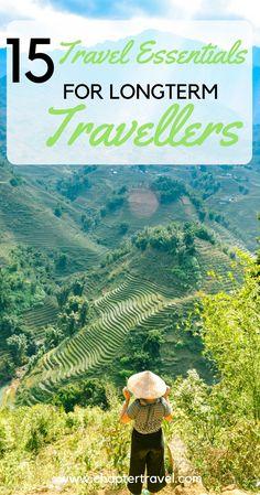 15 travel essentials