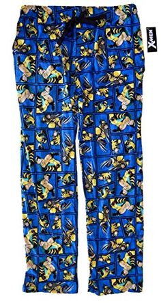 X-Men Wolverine All Over Print Sleep Pants Pajamas (Large... Sleep 8110fc3cb