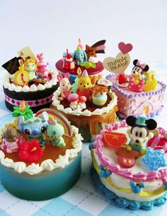 Little Disney cakes!