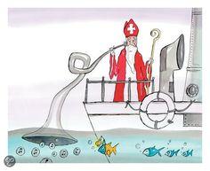 Sinterklaas Ahoi! Auteur :Ted van Lieshout. Illustrator : Sieb Posthuma