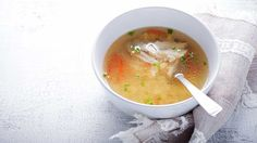 A warming soup for all your health goals: energy, weight loss, immune function, healthy gut