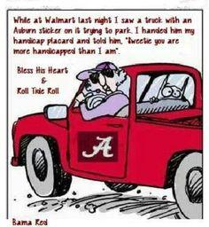 Oh, Maxine! Bless your heart! Crimson Tide Football, Alabama Football, Alabama Crimson Tide, Football Fans, College Football, Alabama Baby, Football Stuff, Football Season, Alabama Score