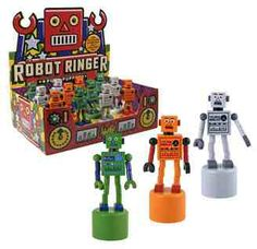 Robot Ringer Push Puppets at Streamline NYC