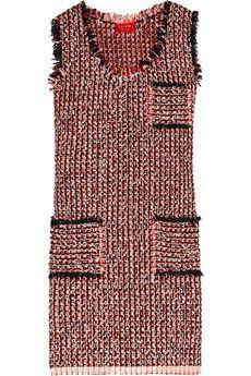 Tweed dress, Lanvin.  Chanel-style as shift dress.