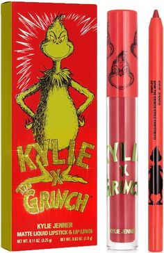 HOW THE GRINCH STOLE CHRISTMAS Grinch Stole Christmas, Liquid Lipstick, Kylie Jenner
